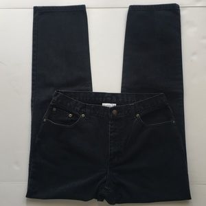 Jeanology Collection Black Jeans Size 12